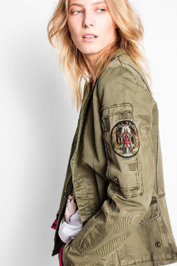 Virginia Grunge Military Jacket
