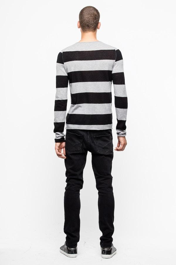Teiss Stripe Cachemire Sweater