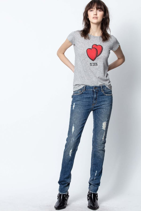 Skinny Hearts T-Shirt