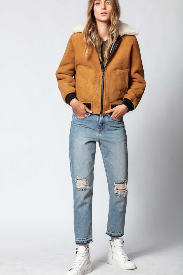 Lotta Reversible Shearling Jacket