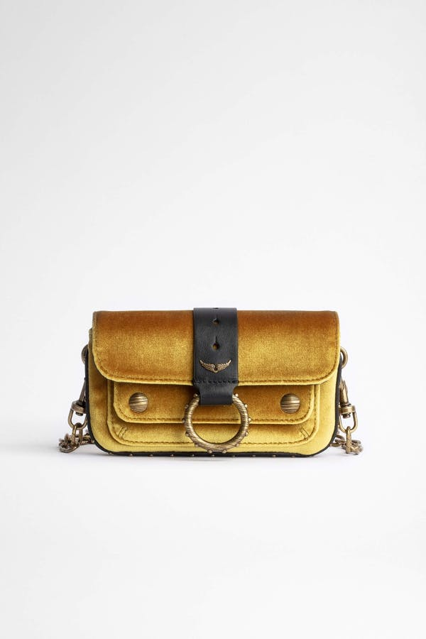 Kate Wallet Velvet Bag