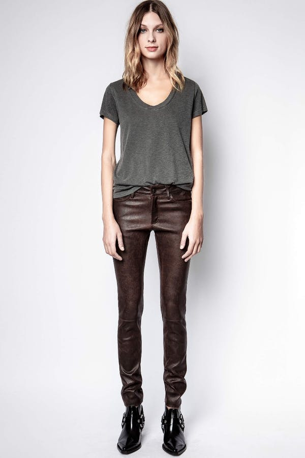 Phlame Leather Used Pants