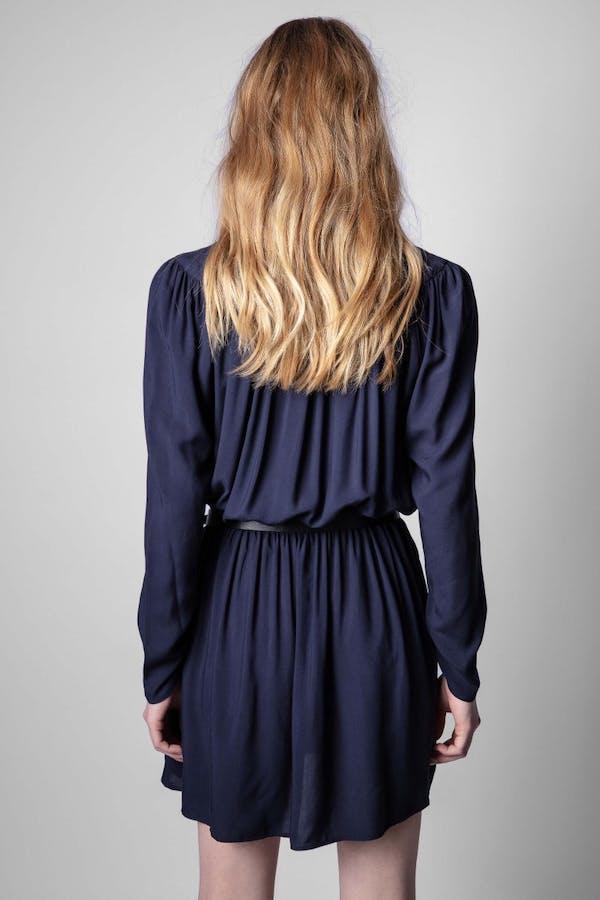 Reveal Satin Dress