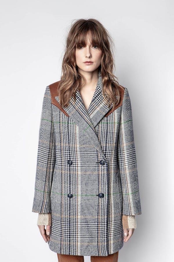 Motty Carreaux Coat
