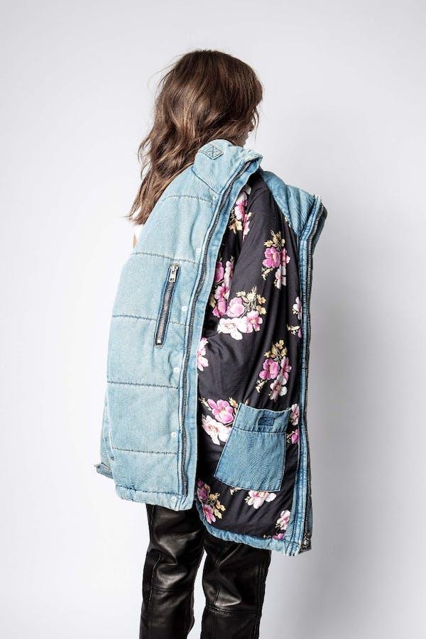 Keim Down Denim Eco Jacket