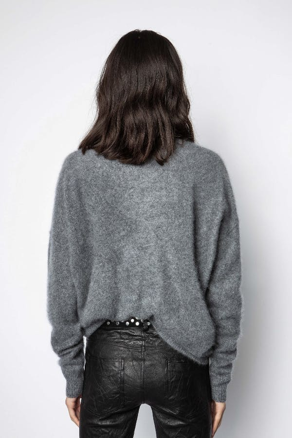 Roby Brushed Cashmere Sweater
