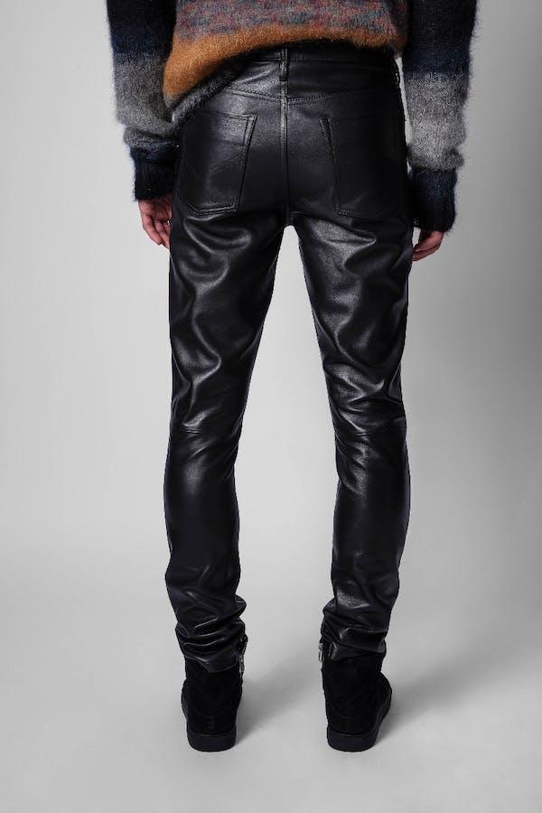 David Leather Pants