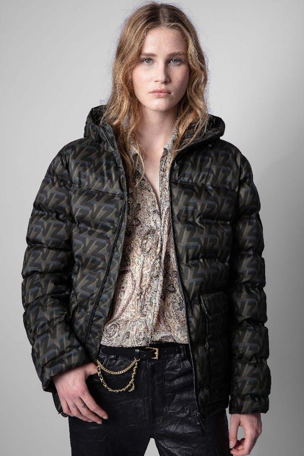 Bowie puffer coat