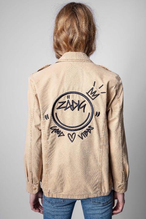 Kid Cotton Good Vibes Jacket