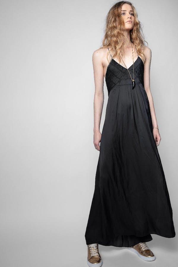 Rayonne Satin Dress