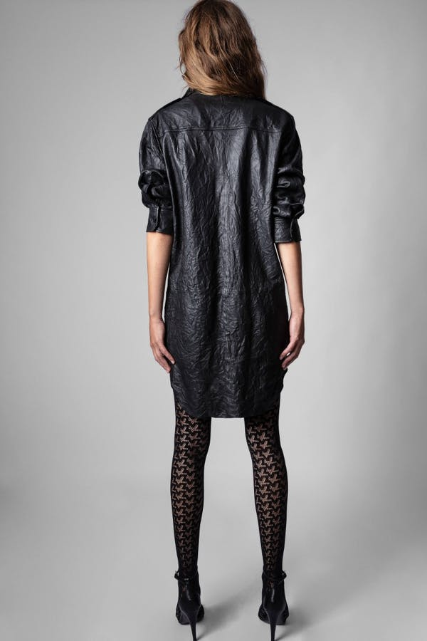Raska Cuir Froisse Dress