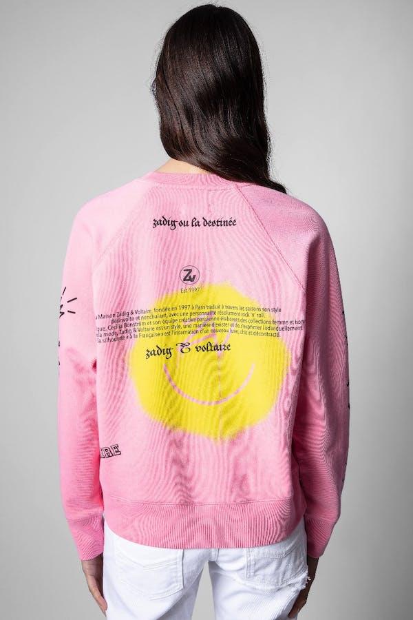 Upper Voltaire Happy Cotton Sweatshirt