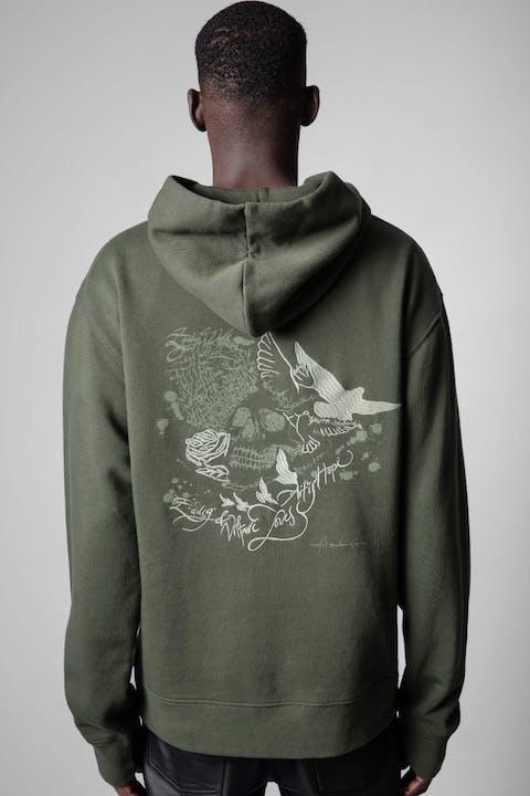 Sanchi Skull Sweatshirt