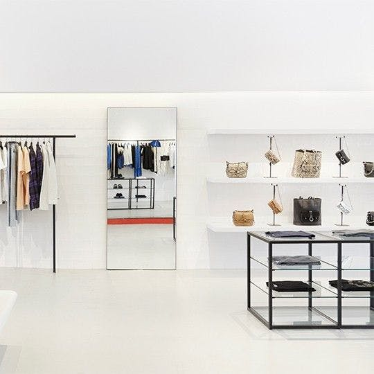 Store services section - store interior image