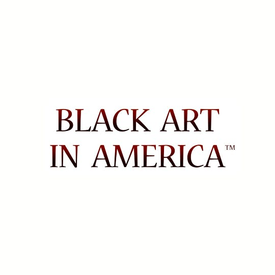 Black Art in America logo