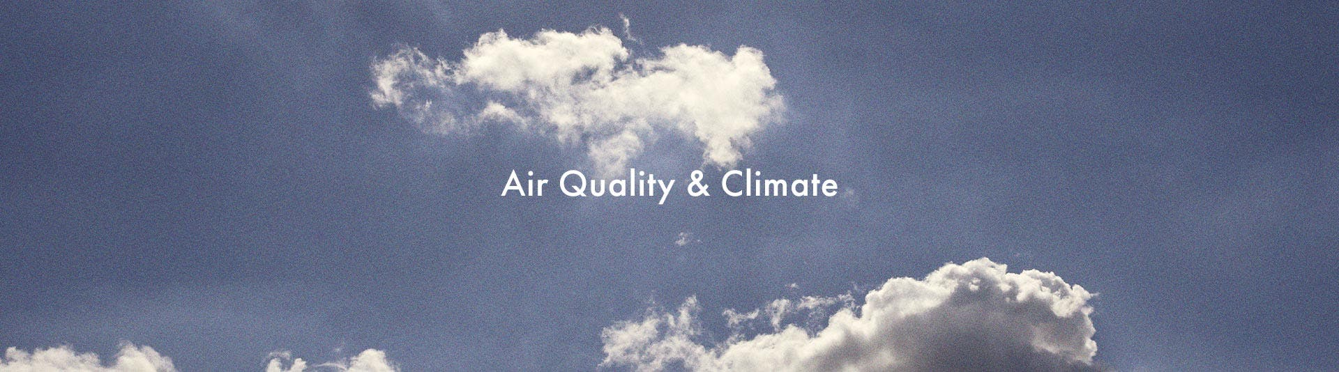 Voltaire air quality and climate top-banner desktop