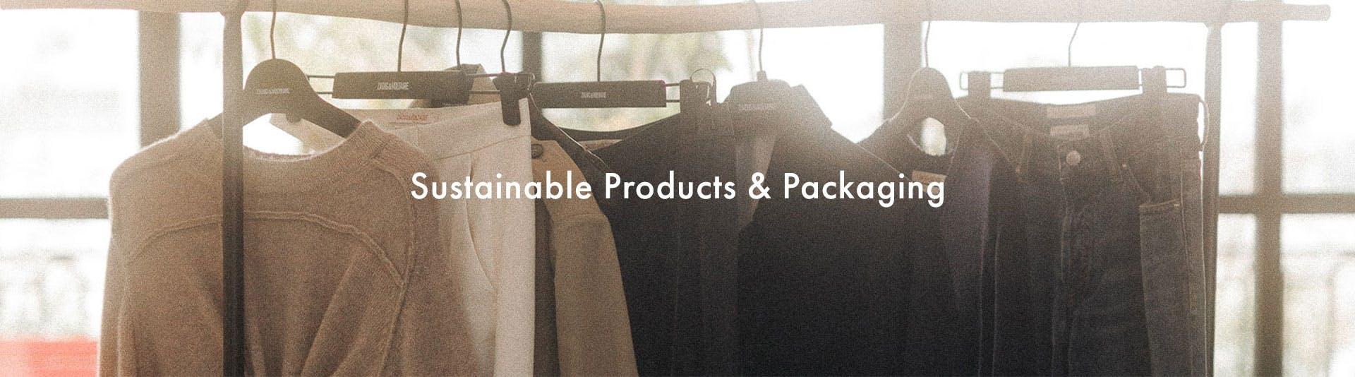 Voltaire program - sustainable products top-banner desktop