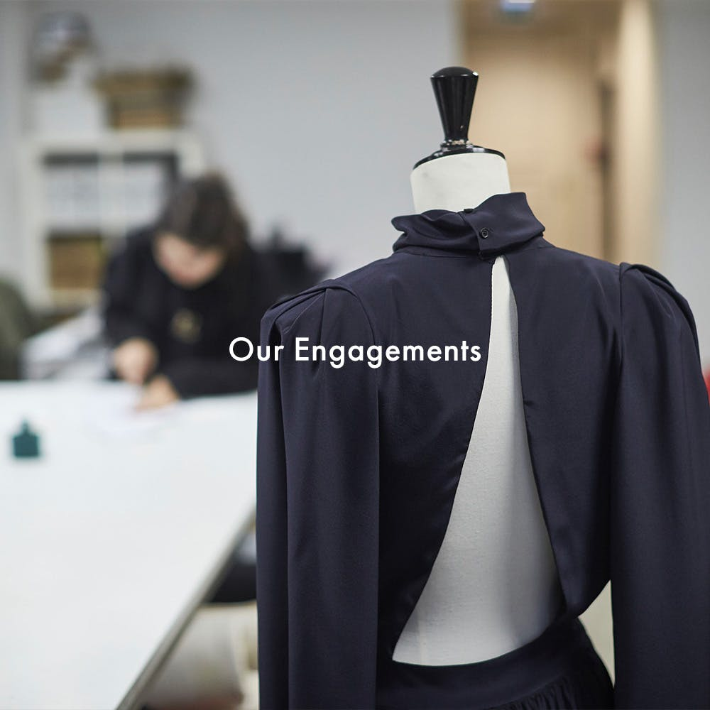 Zadig & Voltaire - our engagement for 2025 banner