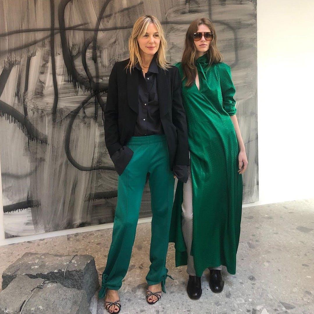 Picture of CÉCILIA BÖNSTRÖM width green dress