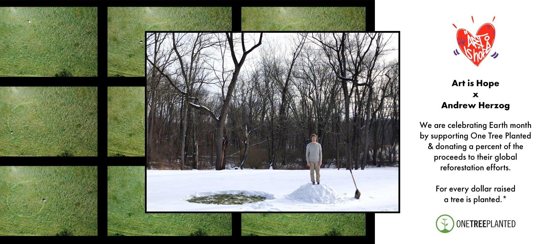 Art Is Hope Introducing Artis Andrew Herzog  Banner