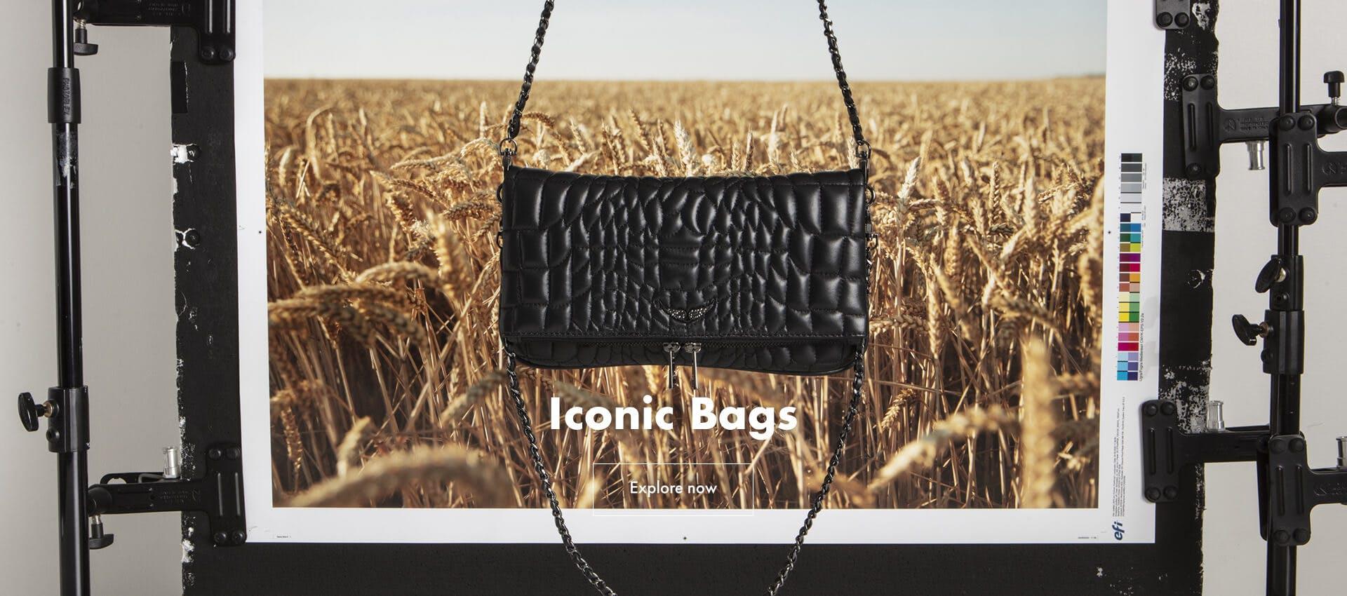 Iconic Handbags Rock Matelasse April 2021