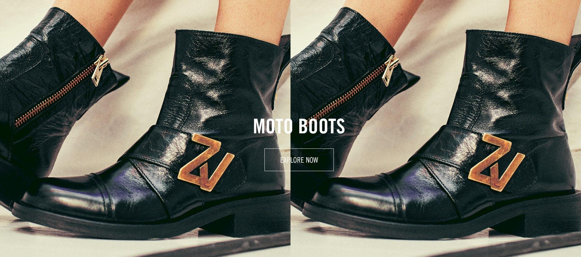 Moto Boots January 2021