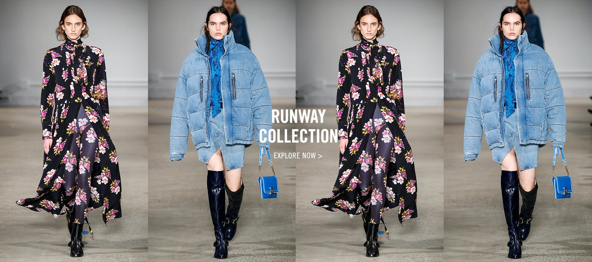 Runway Collection - fw20 new collection HP Banner